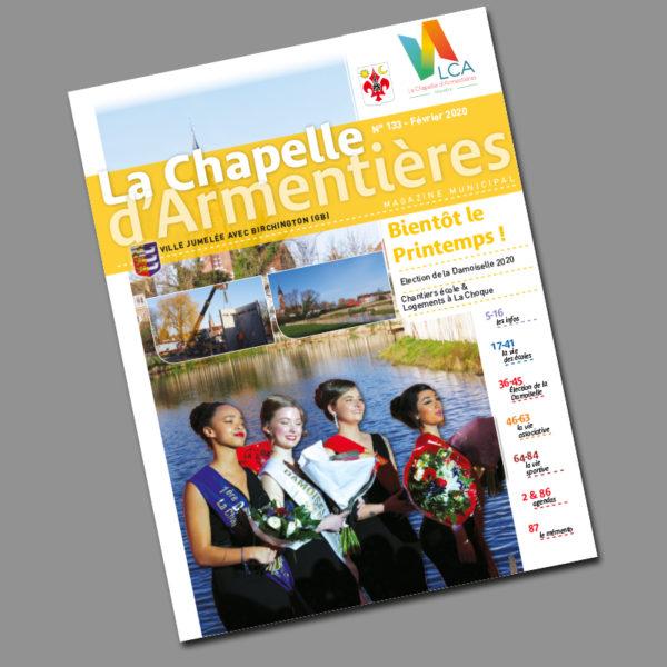 La chapelle d'Armentières – magazine février 2020