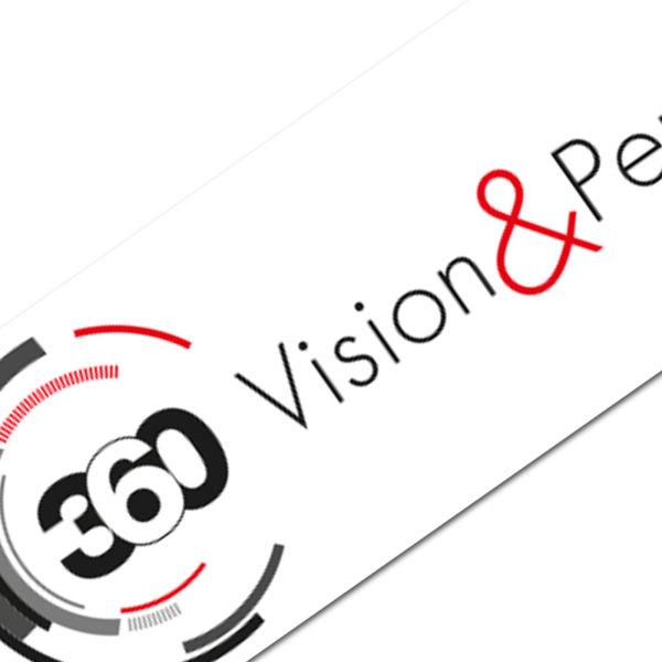 CONCEPTION ET RÉALISATION NOUVEAU LOGO pour la société Vision&Perspective digital pharma