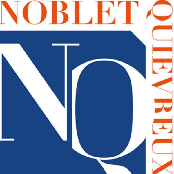 CONCEPTION ET RÉALISATION NOUVEAU LOGO Étude notariale Noblet-Quiévreux