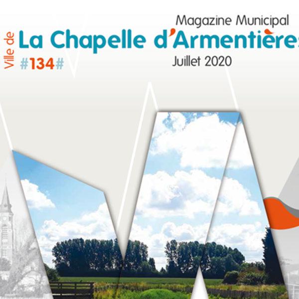 COUVERTURE & MISE EN PAGE MAGAZINE LCA DE JUILLET 2020