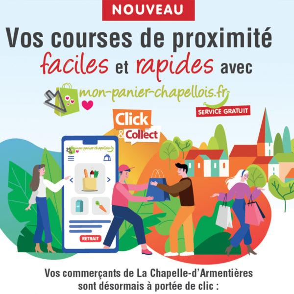 DOCUMENT PROMOTIONNEL LANCEMENT SITE mon-panier-chapellois.fr