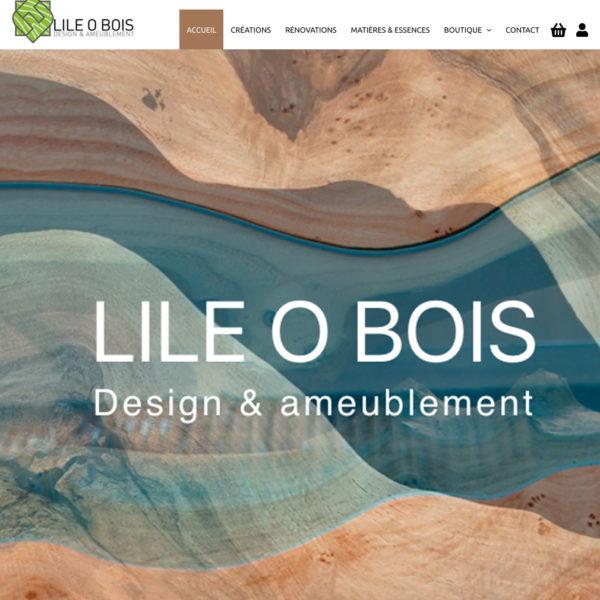 Site e-commerce lile-o-bois